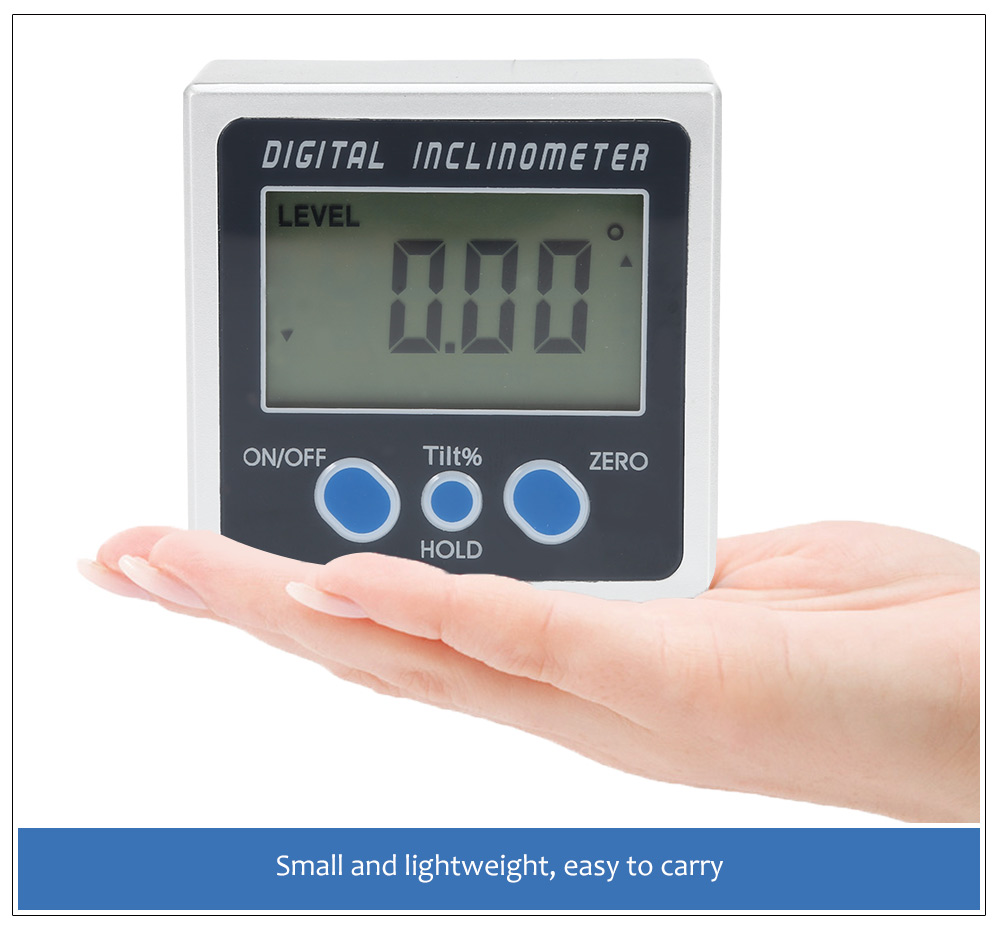 High Precision Digital Inclinometer Level Box