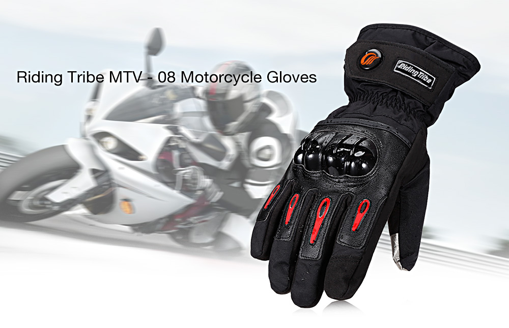 Riding Tribe MTV - 08 Motorcycle Gloves for Skiing Sports