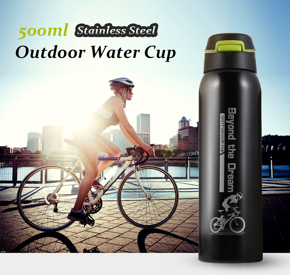 Stainless Steel Sports Outdoor Water Cup