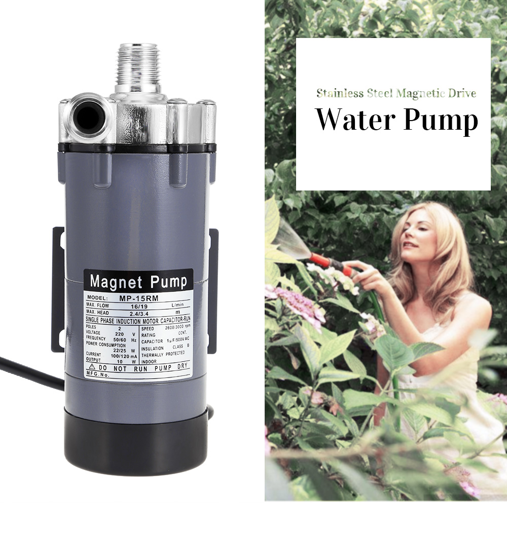 Stainless Steel Magnetic Drive Water Pump