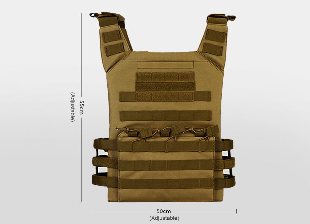 Protector Plus Tactical Vest Amphibious Battle Military Waistcoat for Combat Hunting Protection