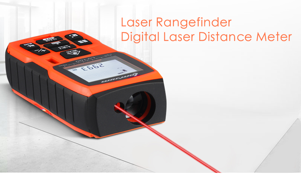 Laser Range Finder Digital Distance Meter Battery-powered Tape Measurer