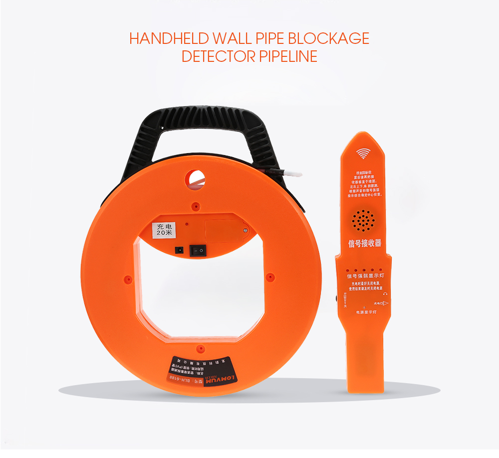 Wall Detector Pipe Scanner Thickness Gauges Pipeline Plumbers Instrument