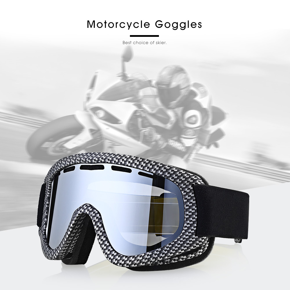 BF657 Motorcycle Goggles for Skiing Outdoor Riding Double Lenses