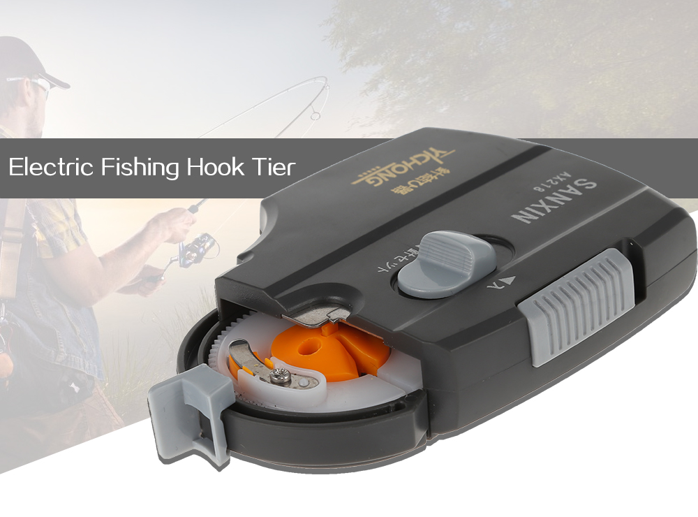 Portable Electric Automatic Fishing Hook Tier