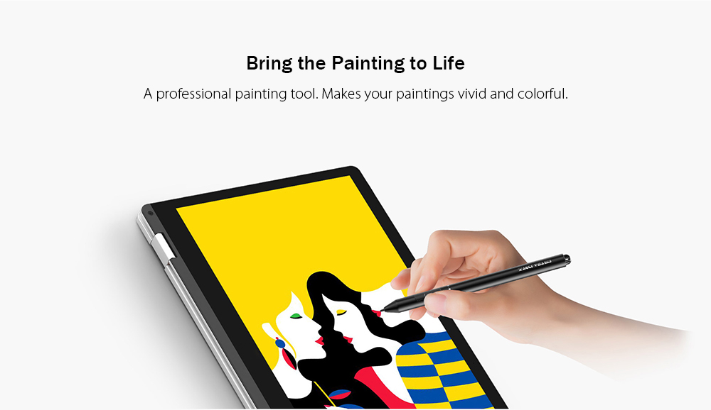 Broonel Red Fine Point Digital Active Stylus Pen Compatible with The TECLAST F5R PC 360 Degree Rotatable 11.6 Touch Screen