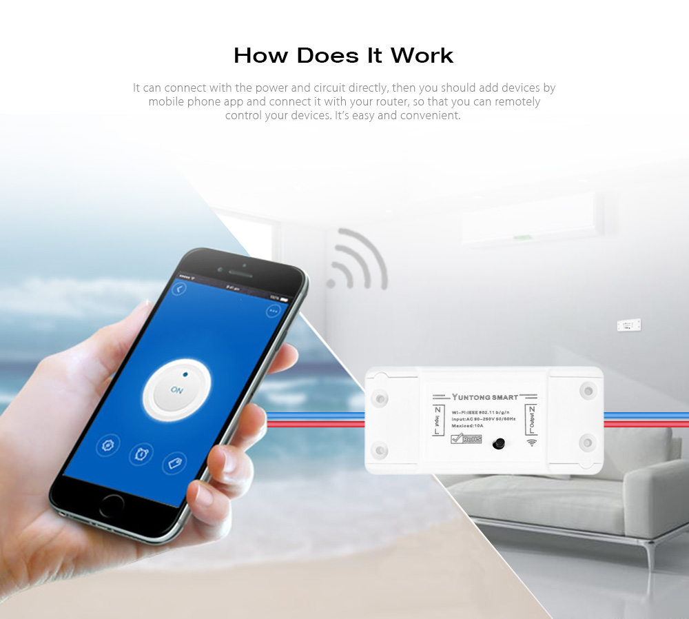 Smart Wireless Wifi Switch 714 Free Shipping Remote View Mobile Dvr With Shock Sensor And Mounting Bracket Package Contents 1 X 4 Screw Spike