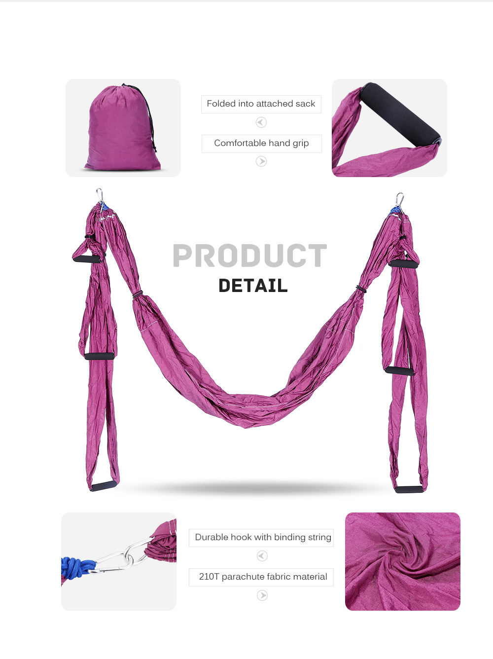 outlife de pression inversion anti gravity aerial yoga hammock outlife parachute fabric anti gravity aerial yoga hammock   56 97      rh   gearbest