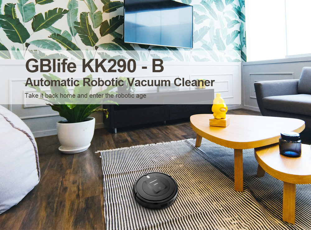 GBlife KK290 - B Automatic Robot Vacuum Cleaner with Remote Scheduling
