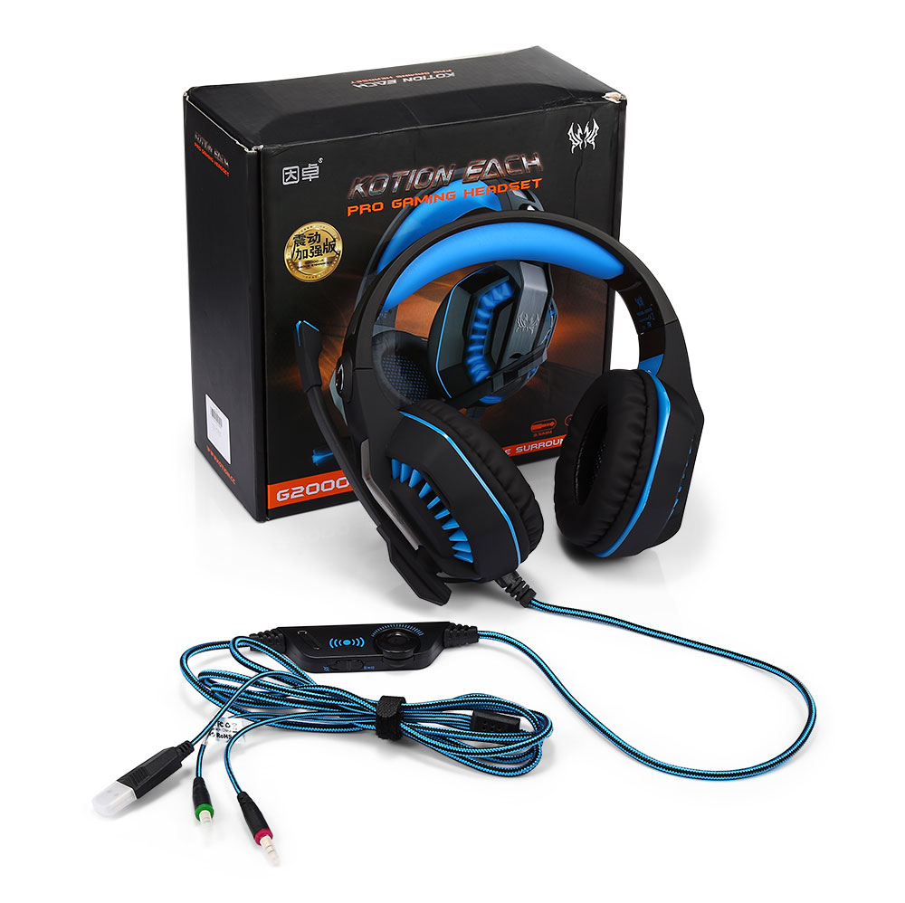 Kotion Each G2000 Over Ear Stereo Gaming Headset 2670 Free