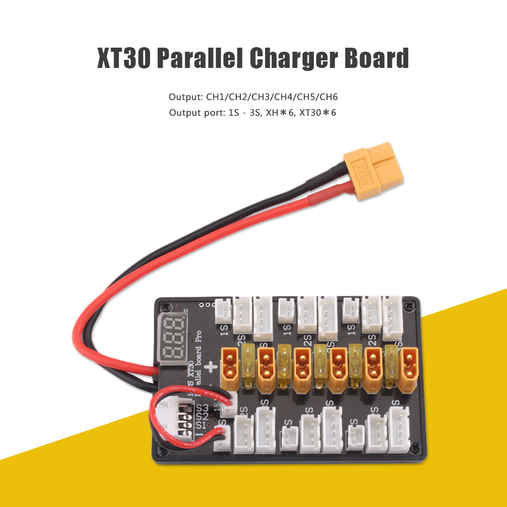 Xt30 1 3s Parallel Charger Board Upgraded Version 913 Free Multi Wiring Port Colormix