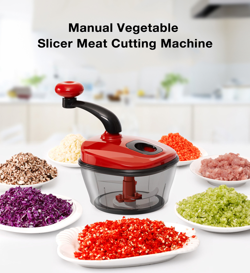 Manual Vegetable Slicer Fruit Meat Cutting Machine