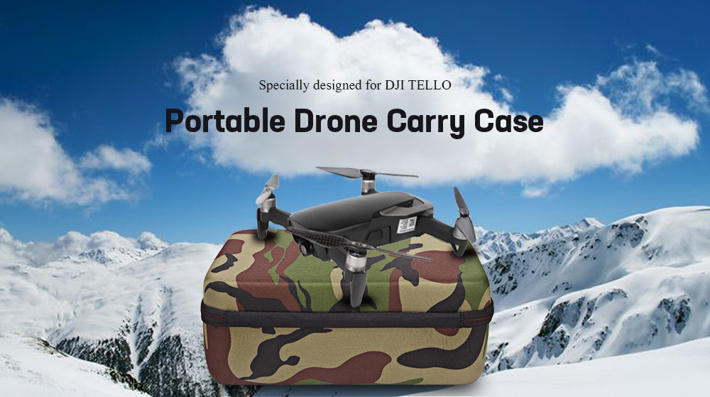 Portable Carrying Case Protective Storage Bag for DJI TELLO Drone