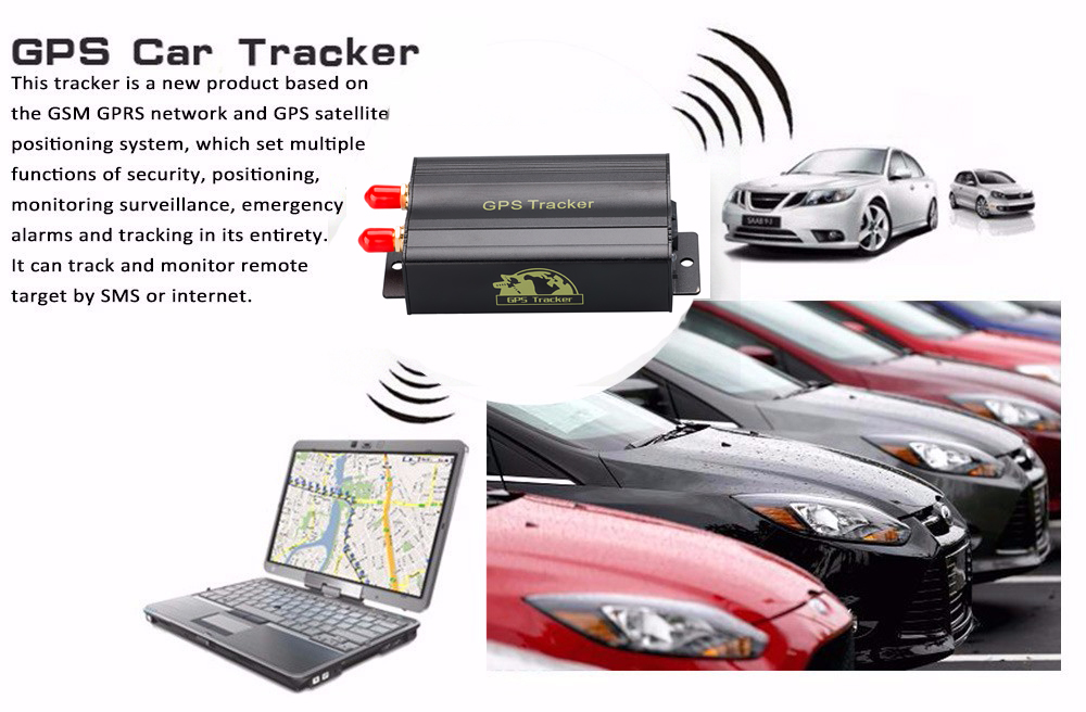 Gps Car Tracker >> Tk103b Gps Sms Gprs Vehicle Tracker Locator Gearbest