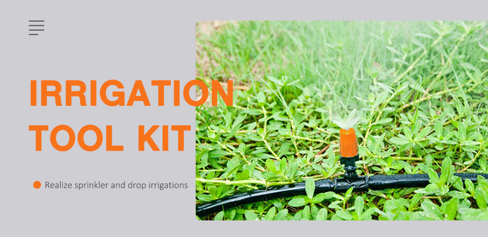 Wegarden DIY Drip Irrigation Tool Kit Multi
