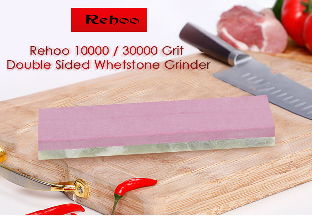 Rehoo Sharpening 10000 / 3000 Grit Whetstone Double Sided Grinder for Knives- Multi