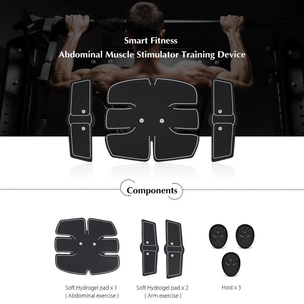Beauty & Health Foot Care Tool Alert New Smart Abdominal Muscle Trainer Sticker Electric Pulse Treatment Stickers Gym Abs Muscle Stimulator Pad Fitness Arm Sticker 2019 New Fashion Style Online