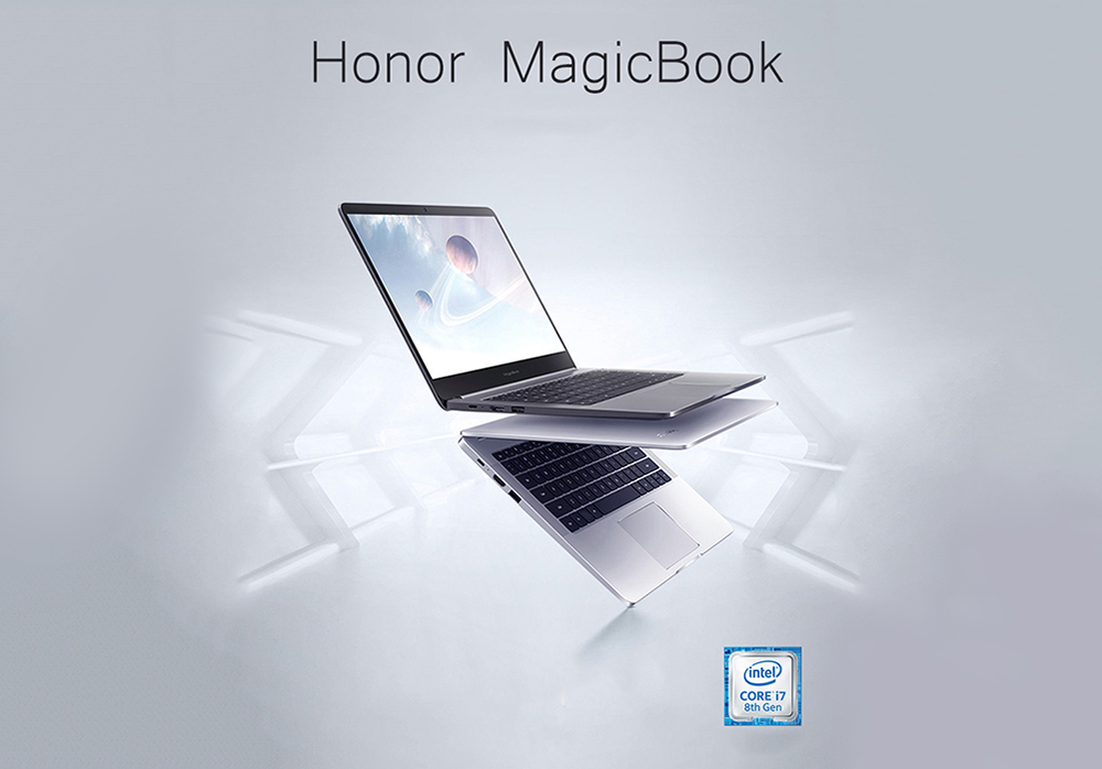 HUAWEI Honor MagicBook VLT - W60E Laptop 14 pollici Windows 10-OEM Pro- Silver Pro