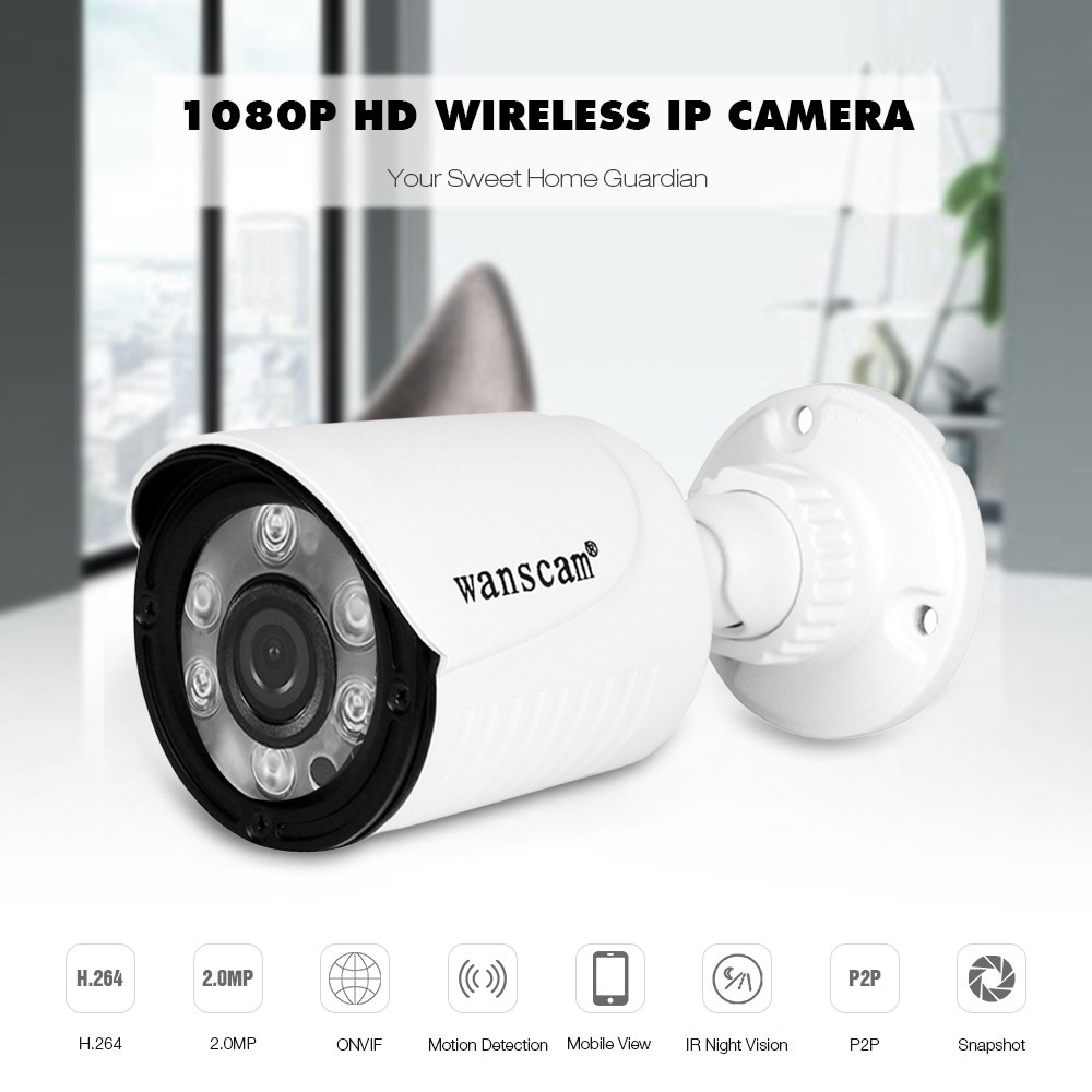 Security & Protection Video Surveillance Have An Inquiring Mind 1080p Hd Network Camera Two-way Audio Wireless Network Camera Night Vision Motion Detection Camera Robot Pet Baby Monitor Perfect In Workmanship