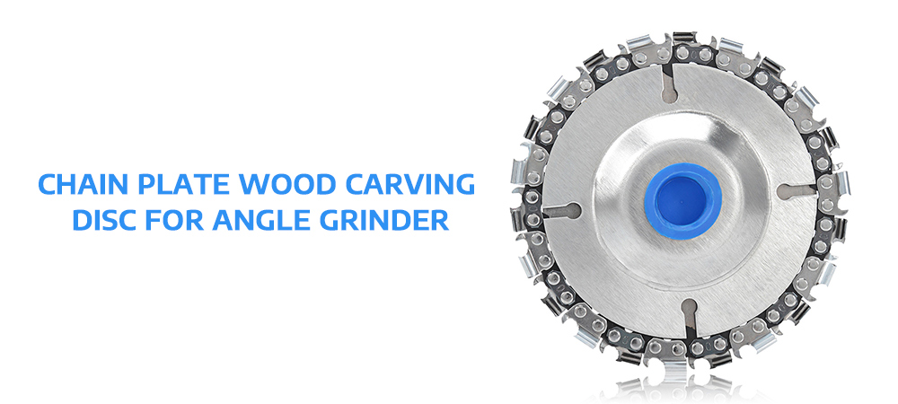 Chain Plate Wood Carving Disc for Angle Grinder