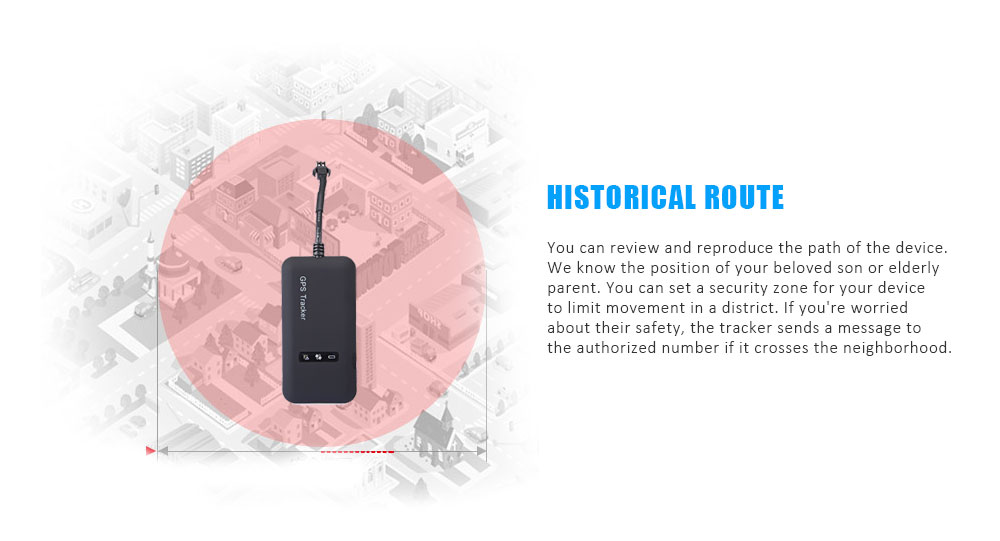 GT02A Car Vehicle Tracker GPS Locator