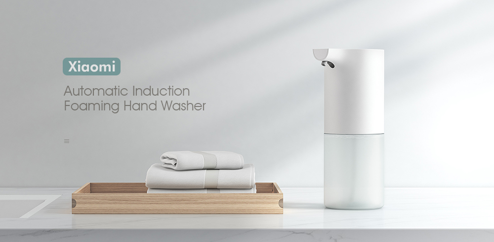 Xiaomi Automatic Induction Foaming Hand Washer Infrared Sensor Soap Dispenser- White