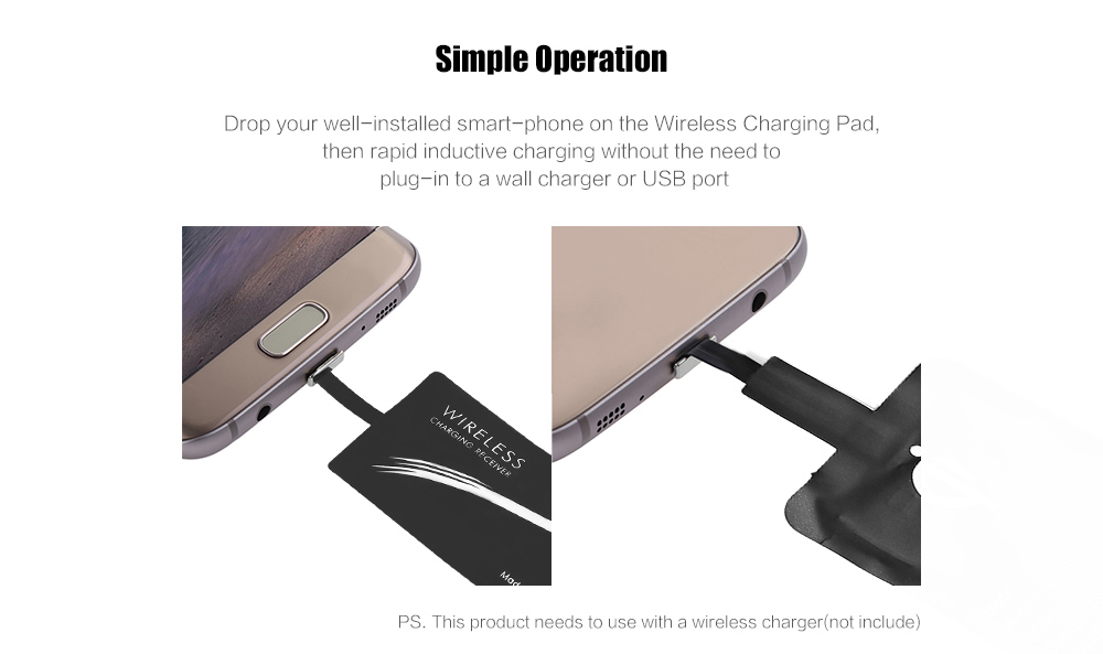 Type-C Wireless Charging Receiver