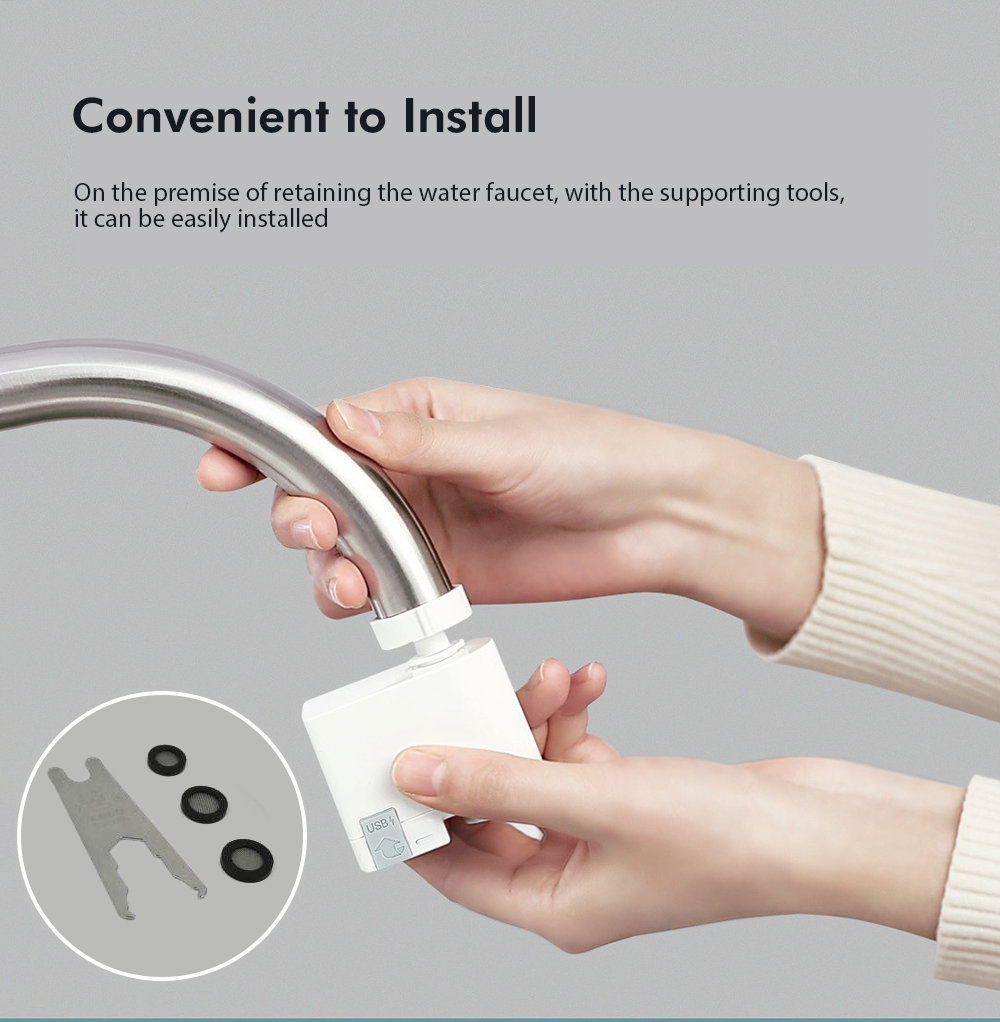 Smart Infrared Sensor Water Saving Overflow Device