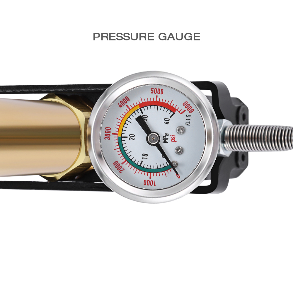 DEDEPU T - S002 40 MPa High Pressure Air Pump with Stainless Steel Material- Gold