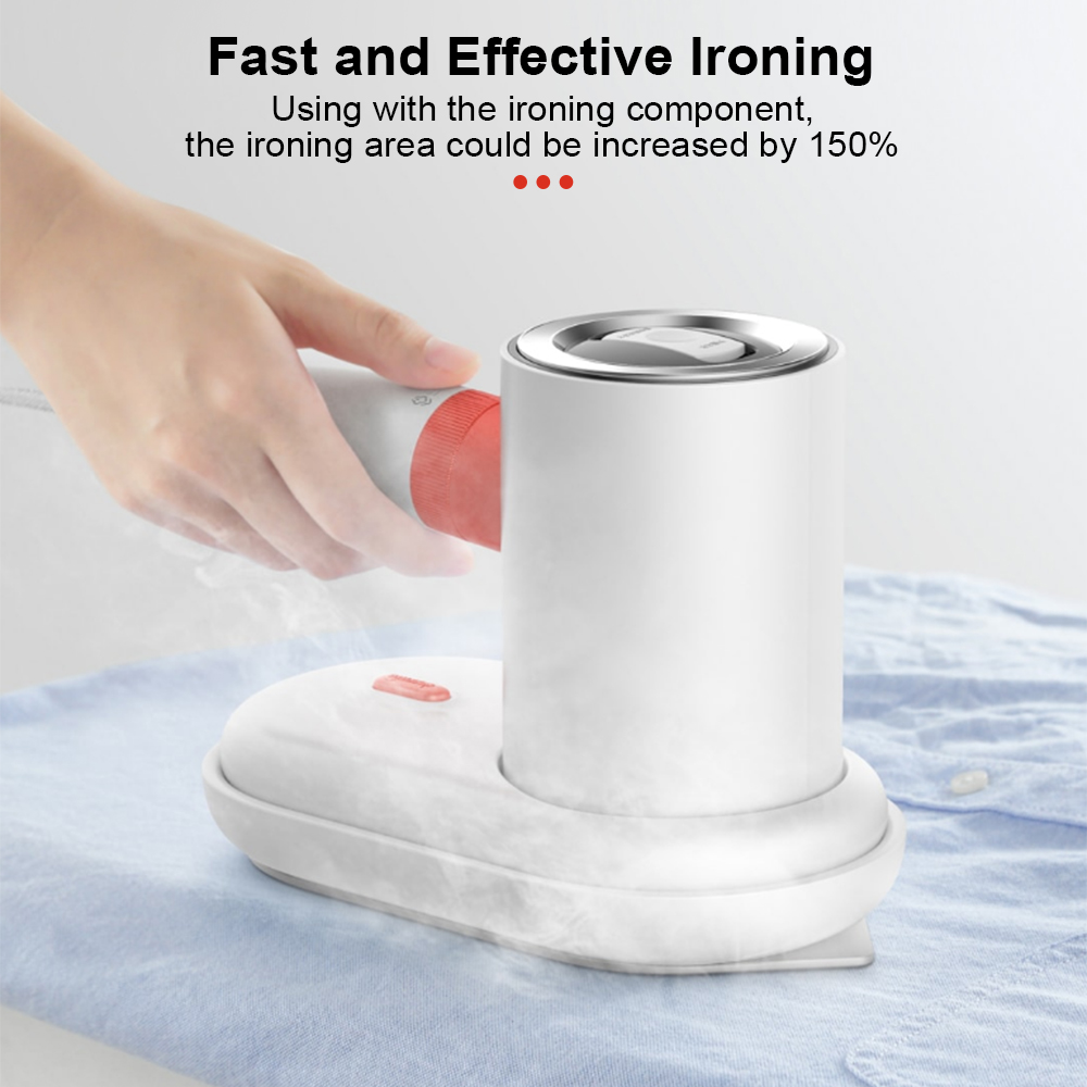 Deerma DEM - HS200 1000W Portable Steam Ironing Machine 110ml Water Tank for Kinds of Fabrics- White Specification 3