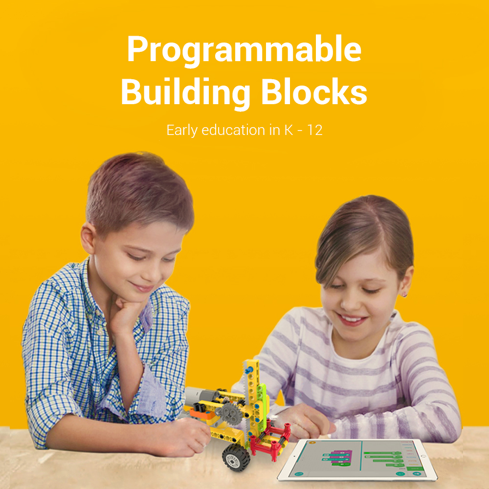 DIDA CUBES Programmable Building Blocks for Early Education K - 12- Multi