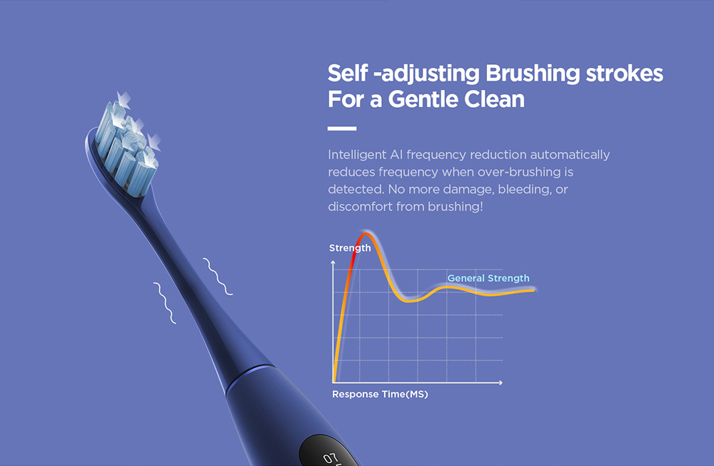 Oclean X Pro Smart Sonic Electric Toothbrush with Touch Screen
