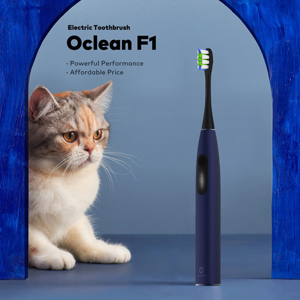 Oclean F1 Sonic Electric Toothbrush IPX7 Waterproof Cleaning Whitening Sensitive Modes 30-day Battery Life Zone Reminder