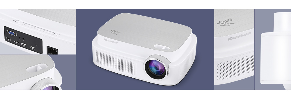 Excelvan Q7 World Cup Memorial Projector