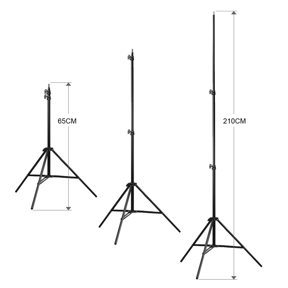 Craphy Kr Rgx08 2000w Photo Studio Lighting Kit 16554 Free Diagram Photography Led Continuous 3 Color Backdrop