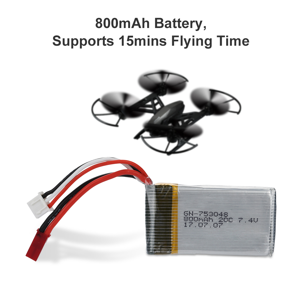 Virhuck Rc Quadcopter Drone With Hd Camera Rtf 24ghz Headless Compact Arduino Altimeter For Planes Circuit System And Altitude Hold Function