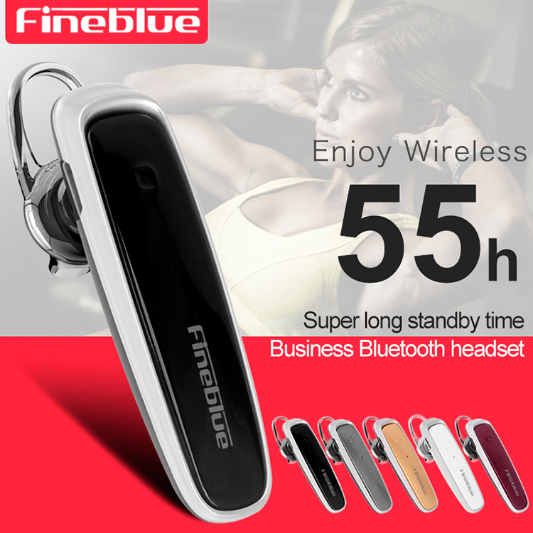 ASTROSOAR - Fineblue FX-1 Wireless Bluetooth Stereo Earphone For Smartphone Business Driving Call