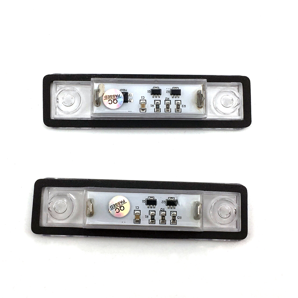 2x Whites LED Error Free Cars SideLight Beam 8SMD Bulb Upgrade For Opel Vectra C