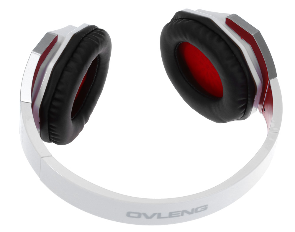 OVLENG A8 Adjustable Music Headphones with Mic Volume Control Hands-free Calls
