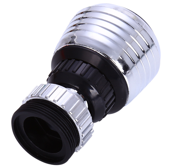 360 Degree Rotary Faucet Nozzle Filter for Kitchen- Silver