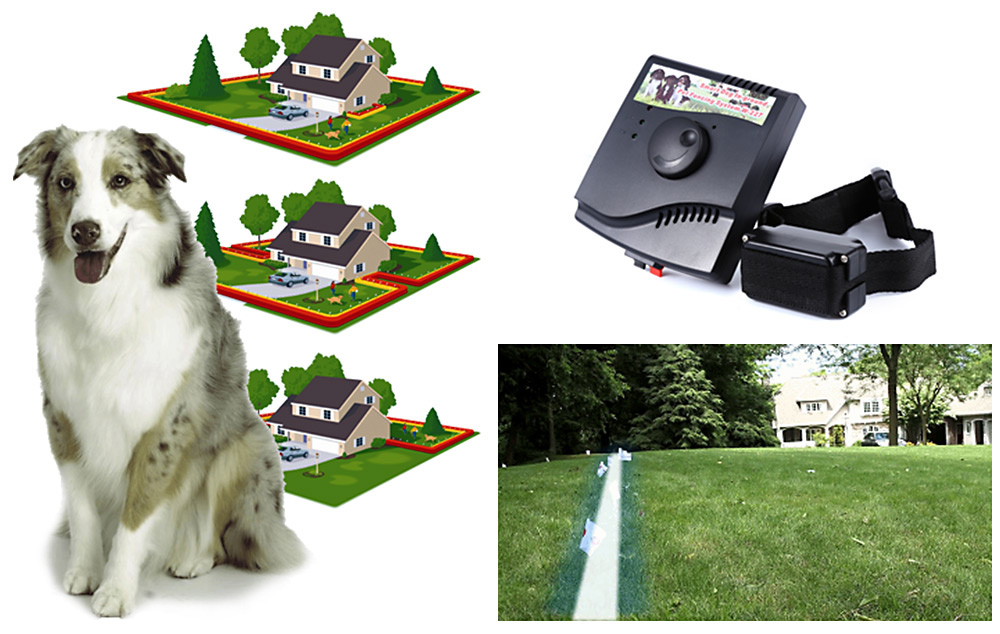 New Underground Waterproof 2 Shock Collar Electric Dog Fence Fencing System MX