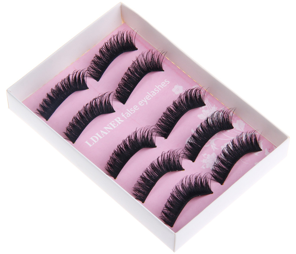 Makeup Exaggerated Stage Artificial Eyelashes 702 Free Shipping