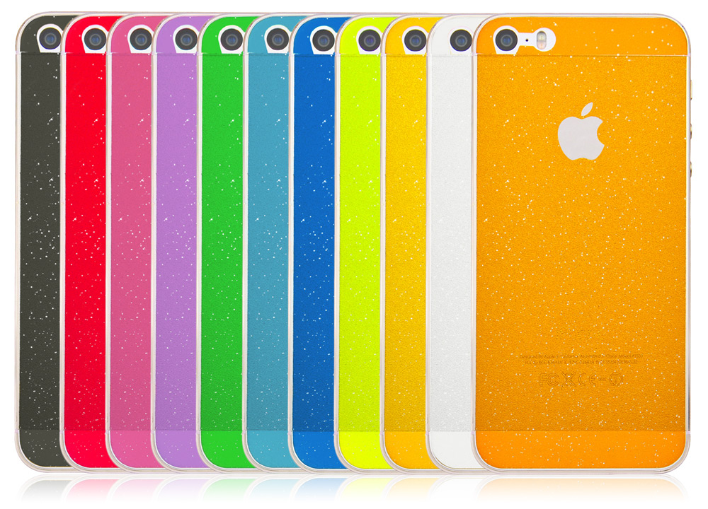 Angibabe Frosted Shimmering Full Body Protective Film for iPhone 5 / 5S