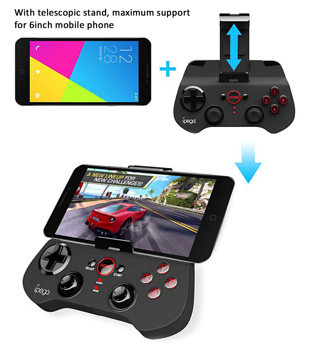 IPEGA PG-9017S Wireless Bluetooth 3 0 Gamepad Game Controller with Stand