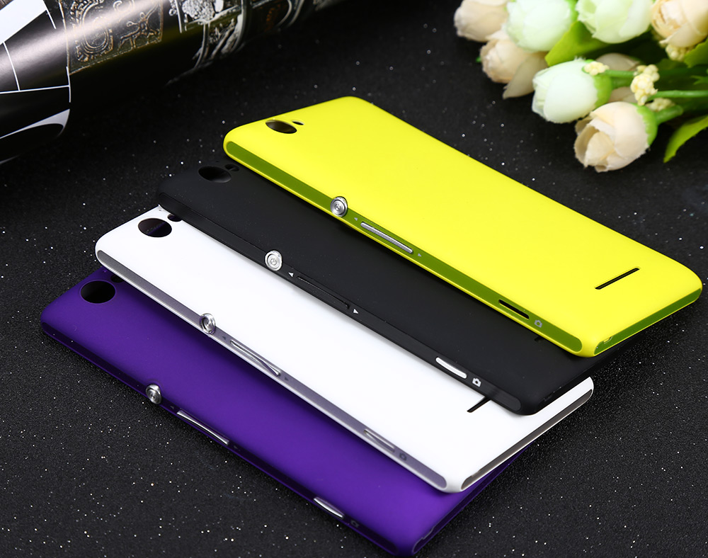 Package Contents: 1 x Matte Hard Back Cover Plastic Case Solid Color for Sony Xperia