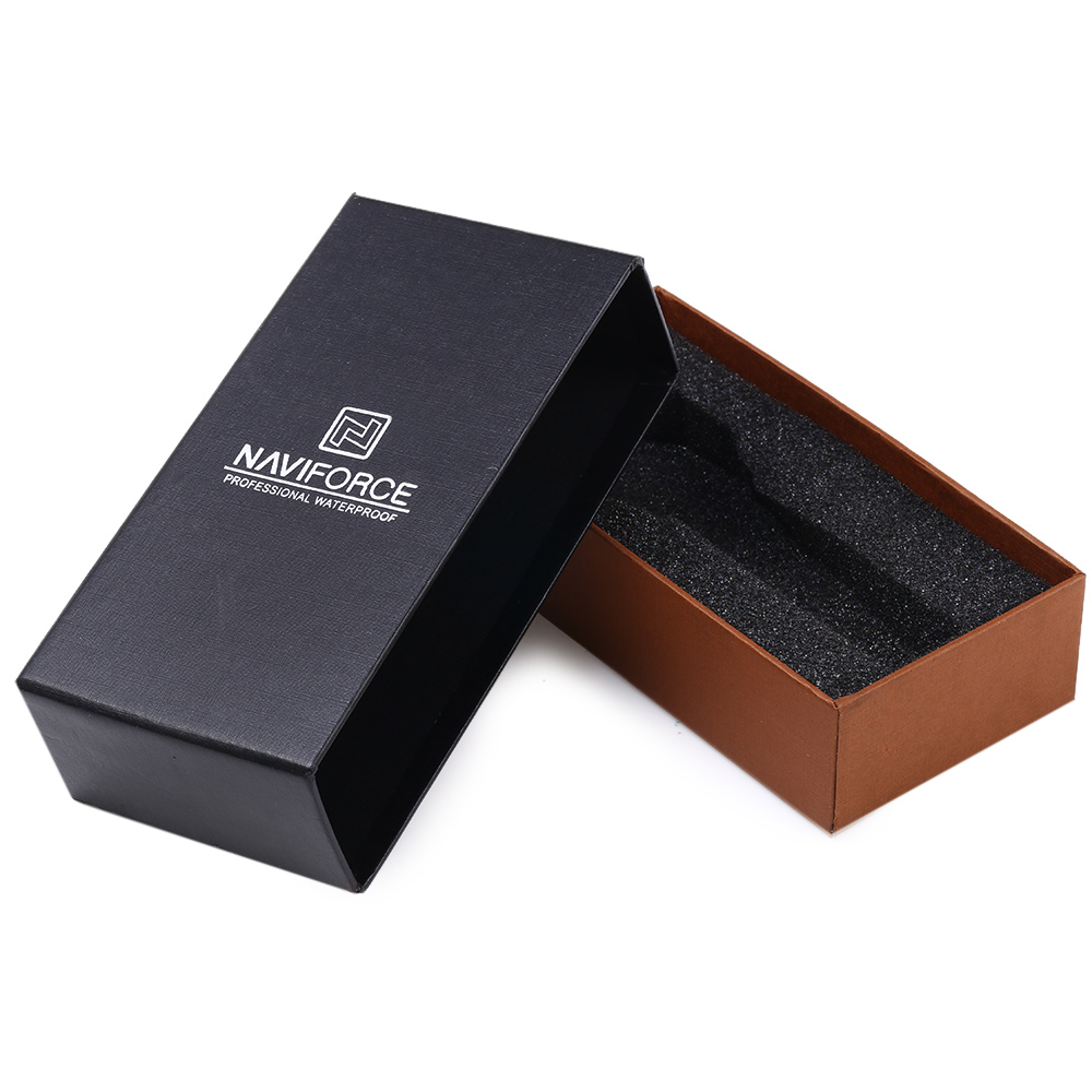 Naviforce Drawer Box for Watch Paper Rings Bracelets Case