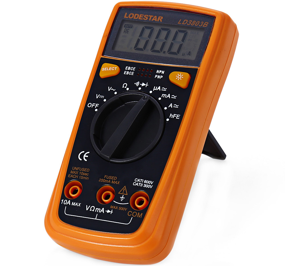 Lodestar Ld3803b Lcd Multimeter 1975 Free Shipping Com Buy Ac90 1000v Induction Type Ac Circuit Detector Voltage Package Contents 1 X 2 15v Aaa Battery Test Probe