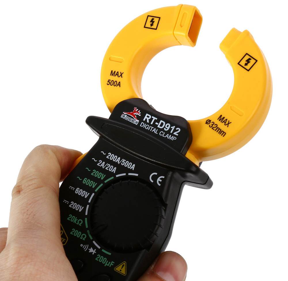 Rt Engineering Digital Meter : Robust deer rt d a lcd digital clamp meter