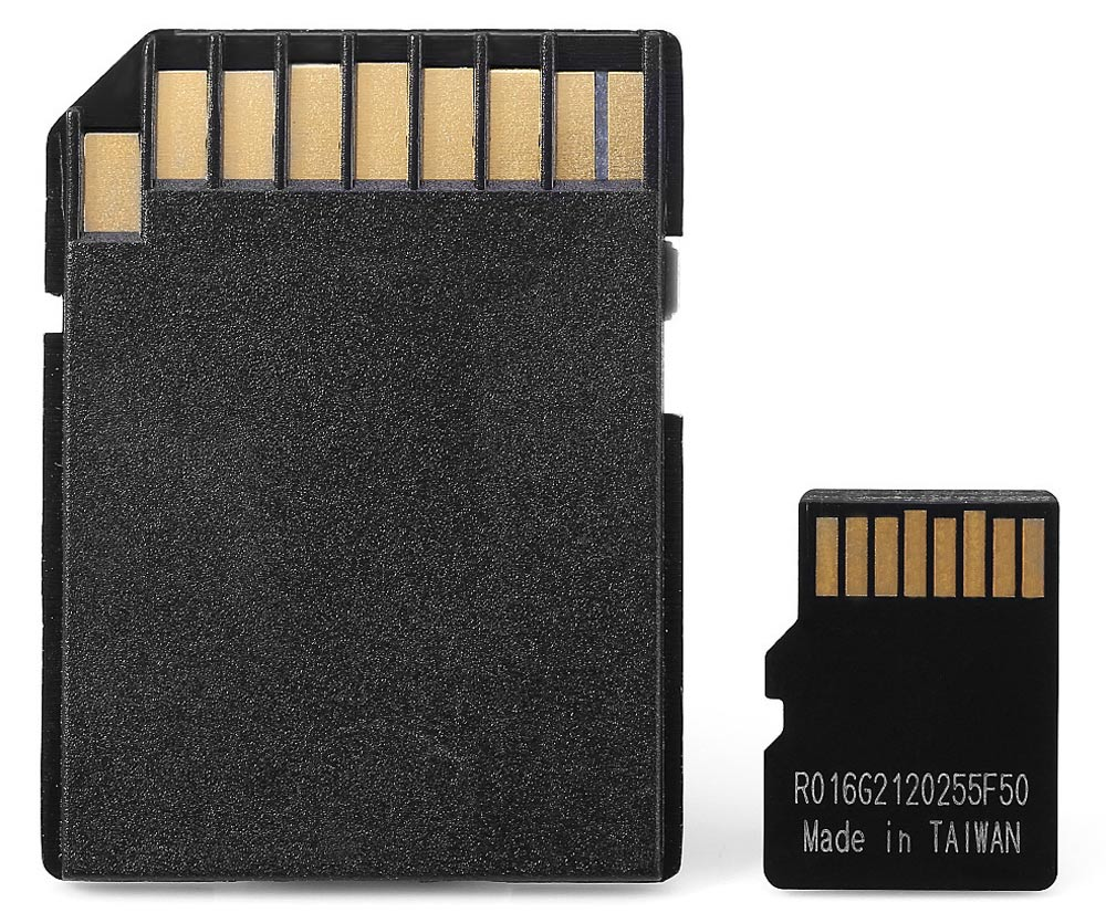 16GB TF Memory Card Class 10 with Micro SD Adapter Combo