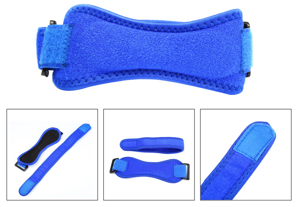 Child Adult Nylon Kneepad Sport Knee Protector Kneelet Kneecap Leg Warmer- Blue One Size(Fit size XS to M)